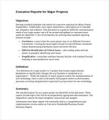 business trip report template pdf sle executive report 6 documents in word pdf