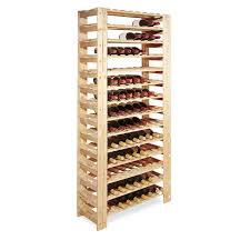 How To Make A Wine Rack In A Kitchen Cabinet by Swedish 126 Bottle Wine Rack Wine Enthusiast