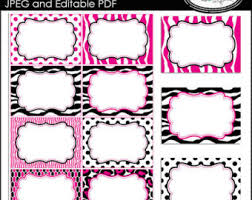 editable pdf cards editable labels printable cards buffet