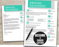 Template Resume Download Instant Download Resume Template Cv Template Resume Cover