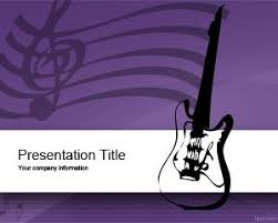 free radio music powerpoint template