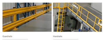 Handrails Guardrails Vs Handrails For Industrial Workplace Safety Omega