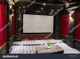 luxury home theater interior stock photo 160698812 shutterstock