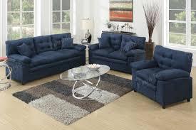 Living Room Furniture Showrooms 3 Pcs Sofa Set Sofa Loveseat Bobkona Furniture Showroom