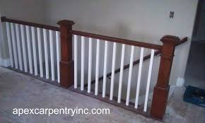 Stairwell Banister Stair Rails We Have Built In Utah Welcome To Apex Carpentry