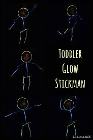 mum first doctor second diy toddler glow stickman
