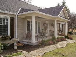 ranch style front porch front porch ideas ranch style homes 1 front porch with cedar chip