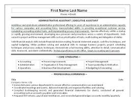 Free Administrative Assistant Resume Templates 10 Best Best Executive Assistant Resume Templates U0026 Samples Images