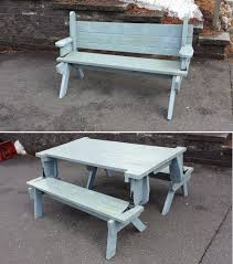 2 piece folding picnic table