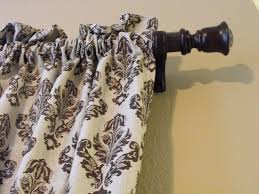 Diy Curtain Rod Finials A Little Of This A Little Of That Pvc Pipe Curtain Rods Part 2