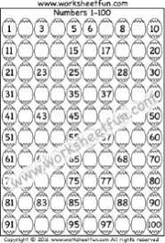 kindergarten worksheets missing numbers 1 100 kindergarten