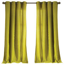 Single Blackout Curtain Madison Kensie Velvet Modern Curtains By Duck River Textile