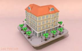 low poly city building download free 3d models low poly lab