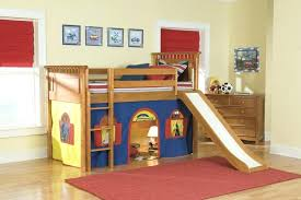 Bunk Beds With Slide And Stairs Futon Boys Bunk Bed With Slide Bunk Beds With Slide And Wall