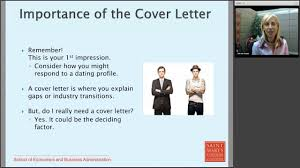 create a compelling cover letter youtube