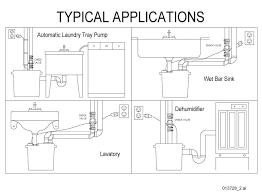 zoeller 105 0001 1 3 hp m53 remote sink drain pump system w