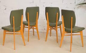 chaises es 50 chaises vintage ées 50 1950 salle à manger vert kaki