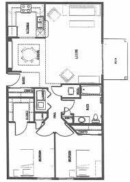 2 Bedroom Floor Plans 2 Bedroom 2 Bath Apartment Floor Plans Caruba Info
