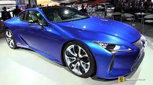 hybrid lexus 2017 2017 lexus lc500 hybrid exterior and interior walkaround 2016