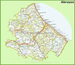 Bologna Italy Map abruzzo maps italy maps of abruzzo