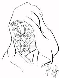 darth maul coloring pages 11402 theotix