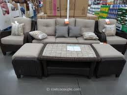 All Weather Wicker Patio Furniture Clearance by Costco Locally Available Agio International 6 Piece Fairview