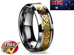 of thrones engagement ring mens wedding band ring of thrones inspired 18k inlay