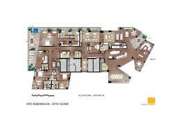Ritz Carlton Floor Plans by Penthouse Ritz