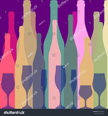 vector background bottlealcoholic bar menu backgrounddesign stock