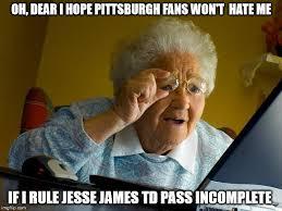 Pittsburgh Steelers Memes - nfl referees imgflip