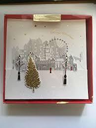 christmas cards london at christmas 6 25 x 6 25