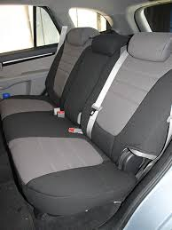 hyundai santa fe 3 child seats hyundai santa fe standard color seat covers rear seats