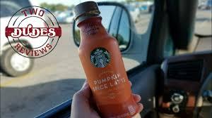 Pumpkin Spice Frappuccino Bottle by New Starbucks Pumpkin Spice Latte Youtube
