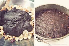 no bake jeweled chocolate cake recipe atelier christine