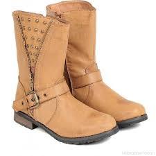 womens boots india ten ten s beige mid length boots boots buy beige color ten