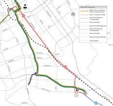 San Jose Light Rail Map by Route 68 U2014 Vta