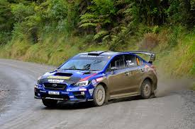 2017 rally subaru another podium for hunt at rally coromandel subaru of new zealand