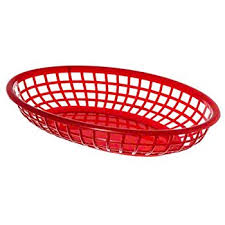 food baskets update international bb96r oval fast food baskets