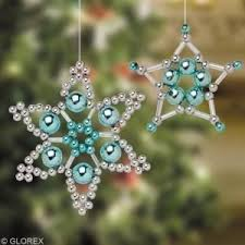 48 best beaded snowflakes images on bead jewellery