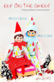 sewing patterns christmas elf featured elf of the shelf outfit tutorial elf on the shelf