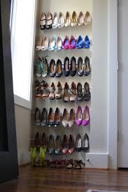 15 clever diy shoe storage ideas for small spaces grillo designs renter friendly diy storage idea from tension rods grillo designs www grillo designs
