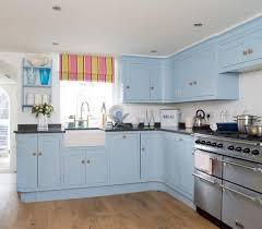Blue Painted Kitchen Cabinets Diy Blue Kitchen Ideas U2013 Interior Design