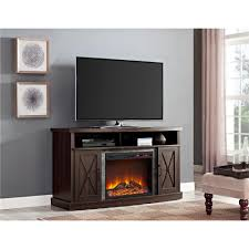 Tv Stand With Fireplace Ameriwood Furniture Barrow Creek Electric Fireplace Tv Stand For