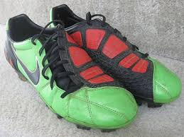 Nike T90 nike t90 total 90 laser soccer shoes 385423 306 size 9 5 neon green