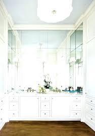 Vanity Mirrors For Bathrooms Frameless Bathroom Mirror Bathroom Vanity With Wall