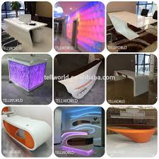 Marble Counter Table by Artificial Marble Modern Checkout Counters Luxury Reception Desks