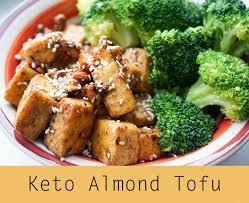 cuisine vegan spicy almond tofu ketoconnect