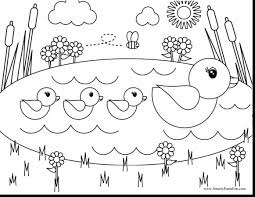 pond coloring page eson me