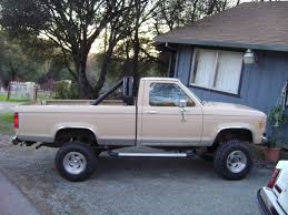 ford ranger lifted 1986 ford ranger information and photos momentcar