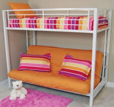 Loft Bed With Futon Underneath Bunkbeds Make The Most Of Your Space